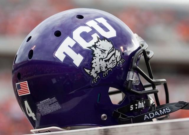TCU Helmet