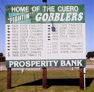 CUERO FB CHAMPS